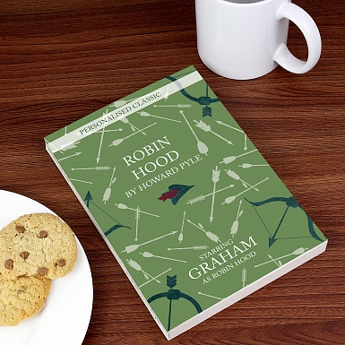 Personalised Robin Hood Novel - 1 Character
