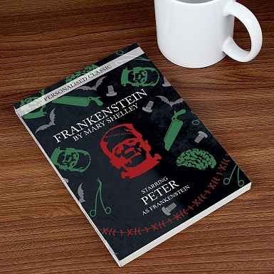 Personalised Frankenstein Novel - 1 Character