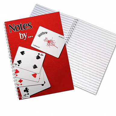 Personalised Joker A5 Notebook