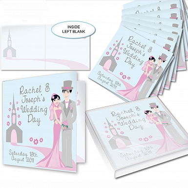 Personalised Fabulous Wedding Invitations
