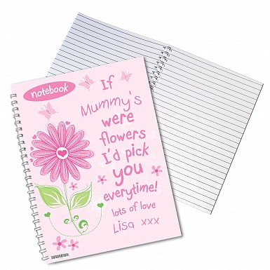 Personalised Id Pick You A5 Notebook