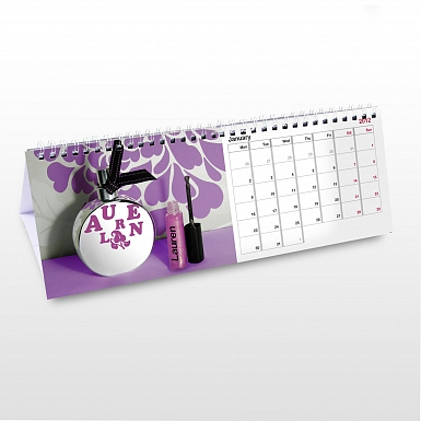 Personalised For Her Desk Calendar
