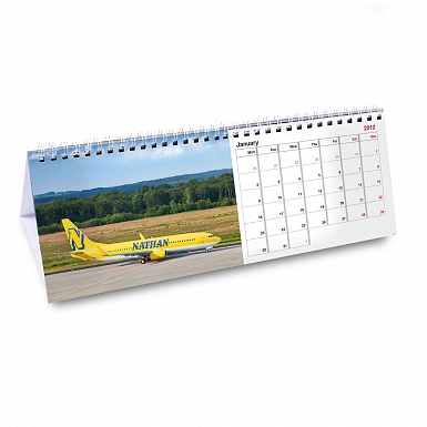 Personalised For Him Desk Calendar