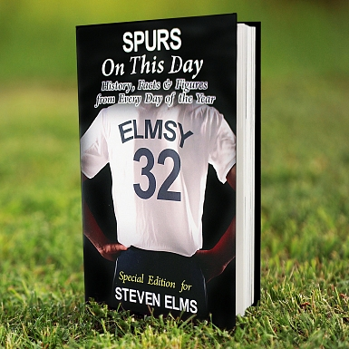 Personalised Spurs On This Day Book
