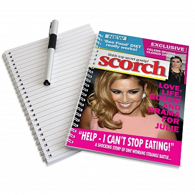 Personalised Scorch A5 Notebook
