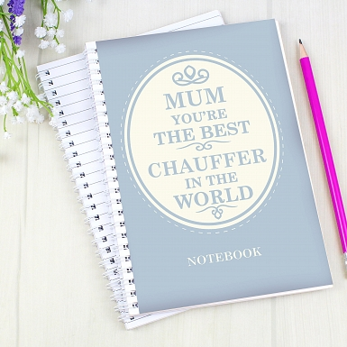 Personalised The Best in the World A5 Notebook