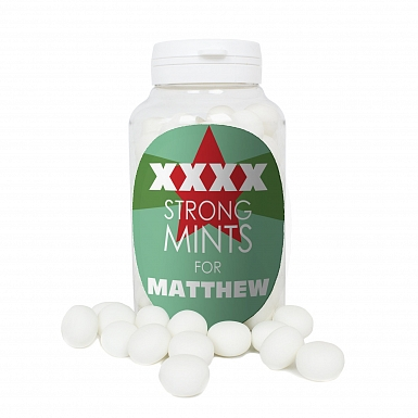 Personalised XXXX Strong Mints