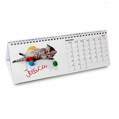 Personalised Your Cat-tastic Desk Calendar