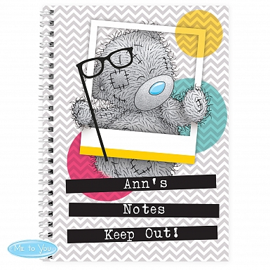Personalised Me to You Trendy Snapshot A5 Notebook