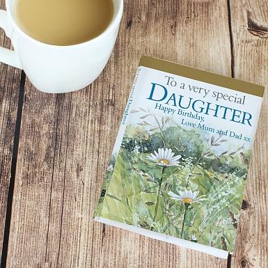 Personalised Very Special Daughter Giftbook