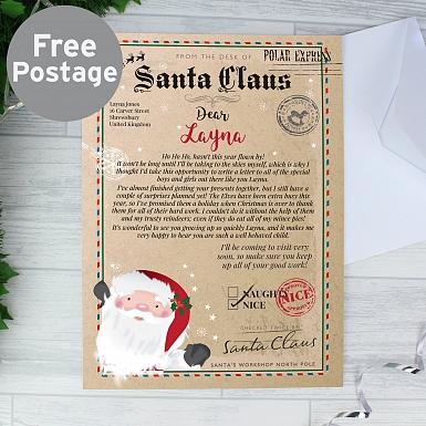 Personalised Santa Claus Letter