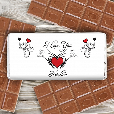 Tattoo Hearts Chocolate Bar delivery to UK [United Kingdom]