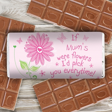 Personalised Id Pick You Milk Chocolates Bar