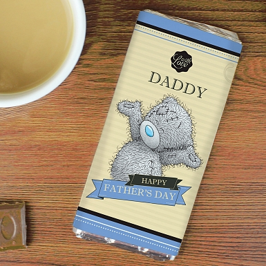Personalised Me to You Milk Chocolates Bar For Him