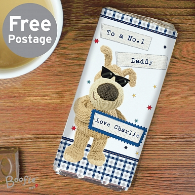 Personalised Boofle Stars Chocolates Bar