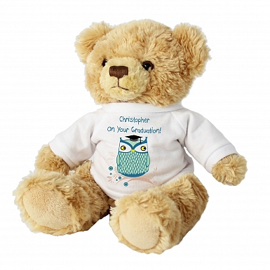 Personalised Mr Owl Message Bear