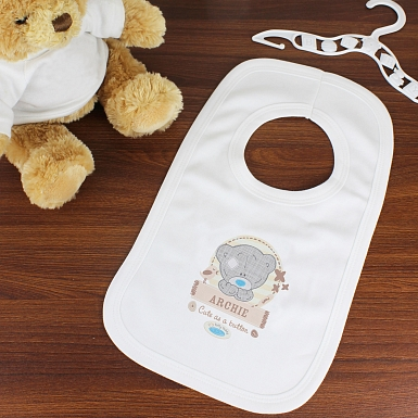 Personalised Tiny Tatty Teddy Bib 0-3 Months