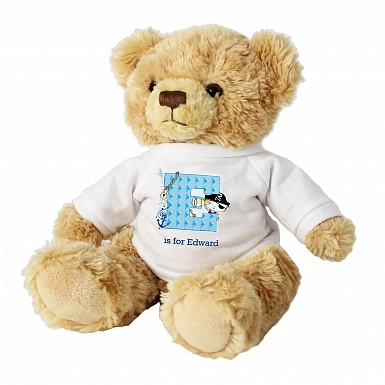 Personalised Pirate Letter Message Bear