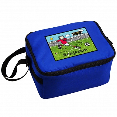 Personalised Bang on the Door Football Crazy Lunch Bag