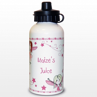 Personalised Fairy Letter Drinks Bottle