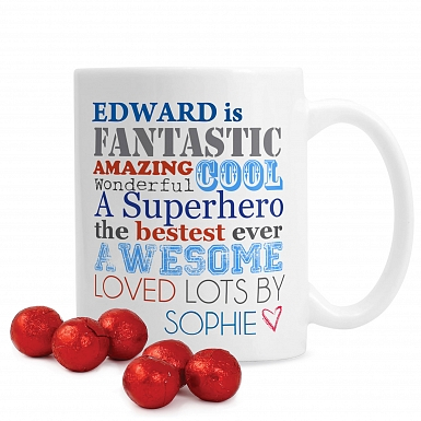Personalised He Is... Mug
