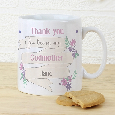 Personalised Garden Bloom Mug