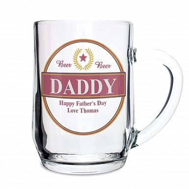 Personalised Luxury Tankard