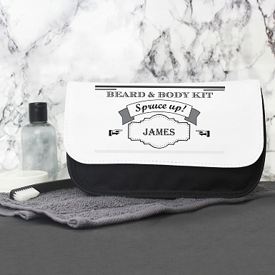 Spruce Up Wash Bag For Him