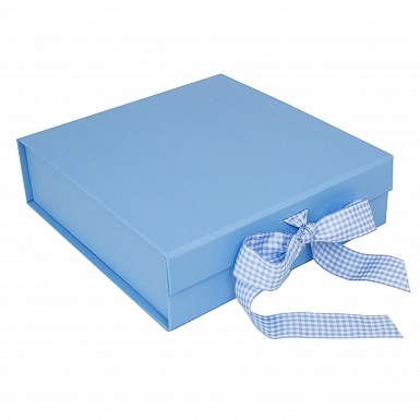 Blue Presentation Gift Box - Suitable for 8 Inch Plates