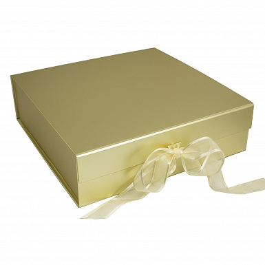 Gold Presentation Gift Box - Suitable for Breakfast Sets