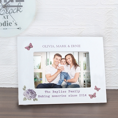 Personalised Secret Garden 6x4 Photo Frame