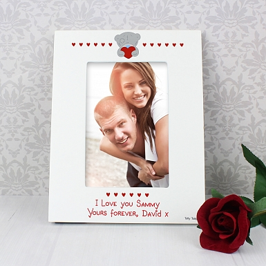Personalised Me to You Big Heart 6x4 Photo Frame