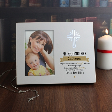 Personalised Im Glad 6x4 Light Up Frame