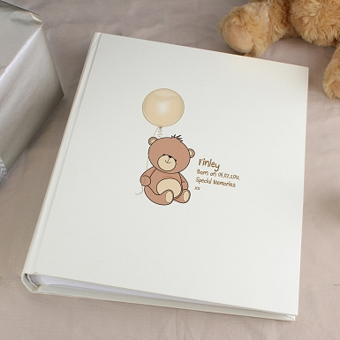 Personalised Teddy Traditional Album