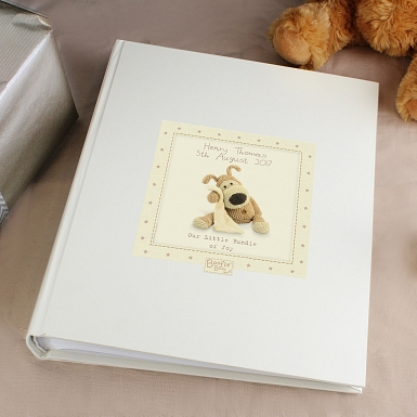 Personalised Boofle Baby Album with Sleeves