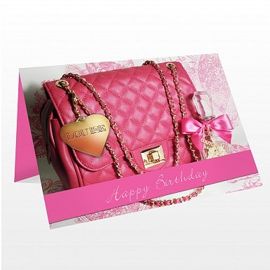 Personalised Handbag Card