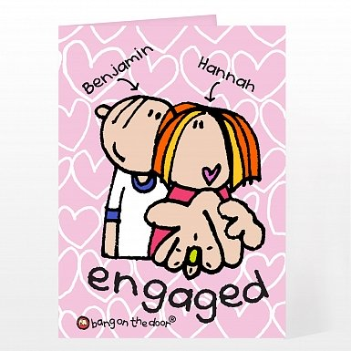 Personalised BOTD Engaged Card