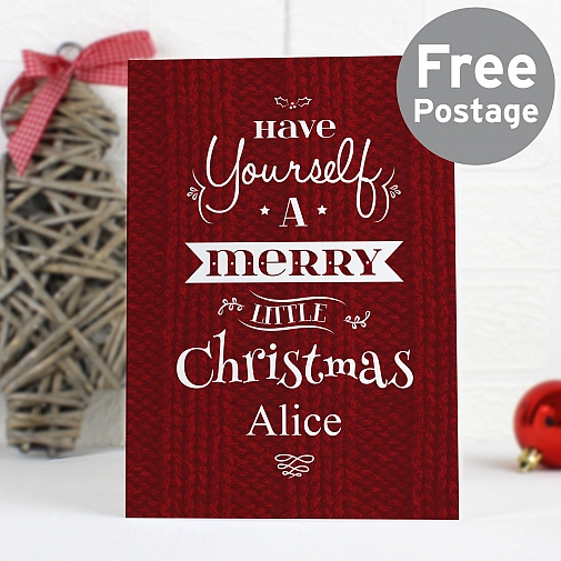 Personalised Have Yourself A...Card
