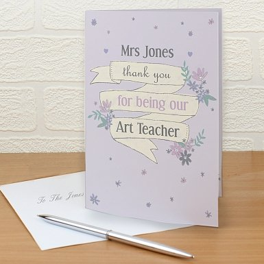 Personalised Garden Bloom Card