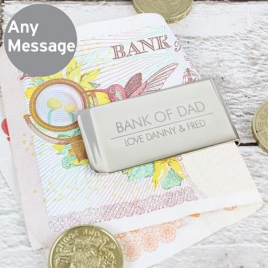 Personalised Classic Money Clip
