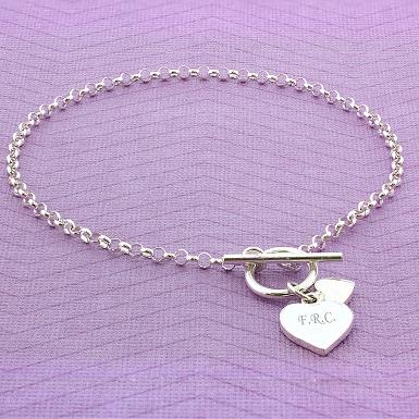 Hearts T-Bar Bracelet delivery to UK [United Kingdom]