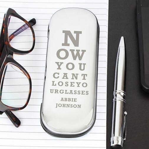 Personalised Eye Exam Glasses Case