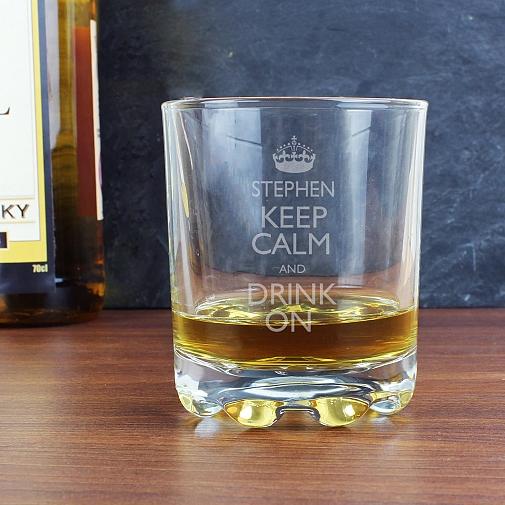 Personalised Keep Calm Tumbler