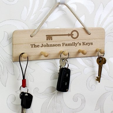 Personalised Any Message Key Holder
