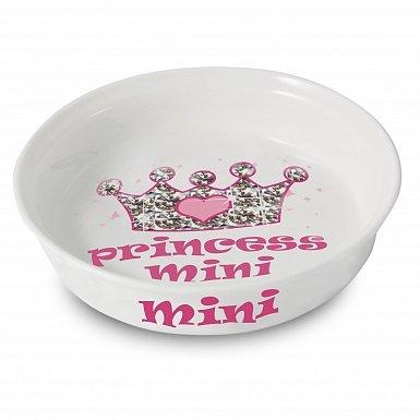 Personalised Bling Princess Pet Bowl