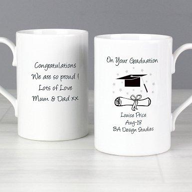 Personalised Graduation Slim Mug