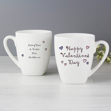 Happy Valentines Day Mug delivery to UK [United Kingdom]