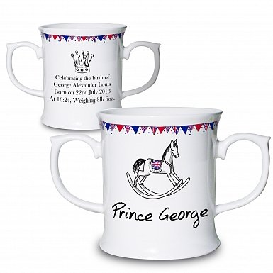Personalised Royal Baby Loving Mug