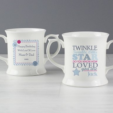 Personalised Twinkle Boys Loving Mug