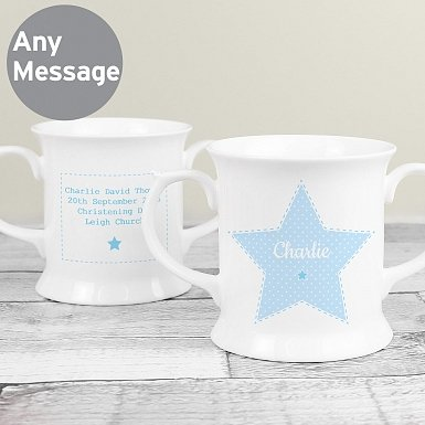 Personalised Stitch & Dot Boys Loving Mug